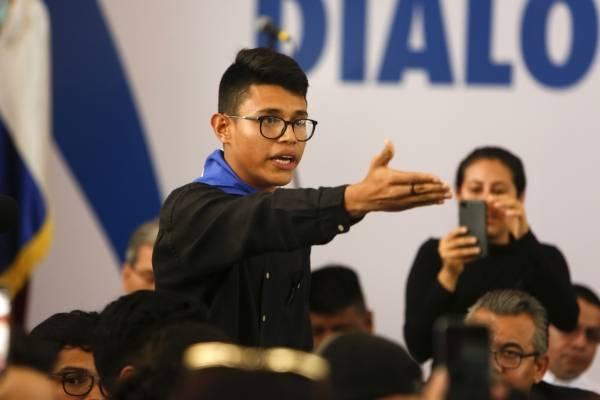 estudiante Nicaragua