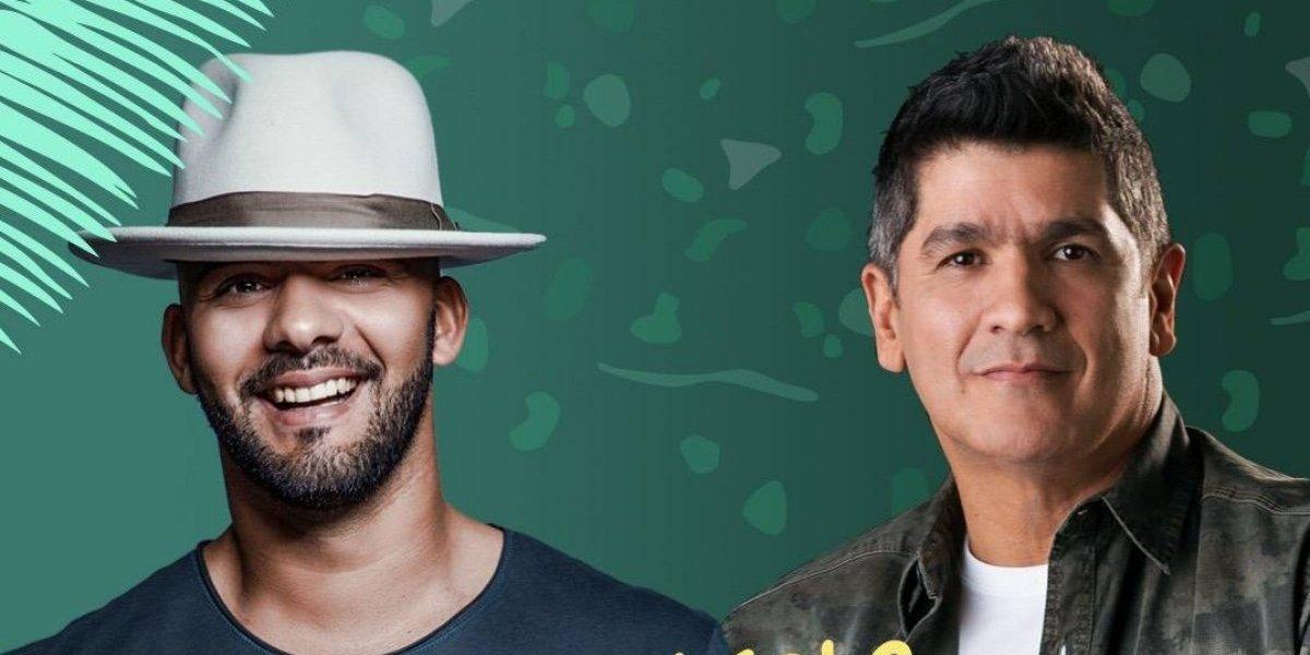 """Gabriel y Eddy Herrera cantan """"A tan solo una hora"""" versión remix"""