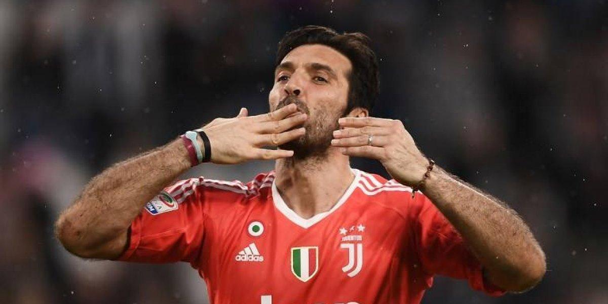 """VIDEO. Buffon se despide de la """"Juve"""", pero puede jugar en otro equipo"""