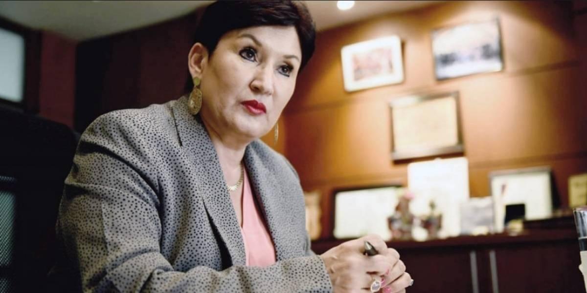 Thelma Aldana se pronuncia por pobladores engañados para manifestar frente a CICIG