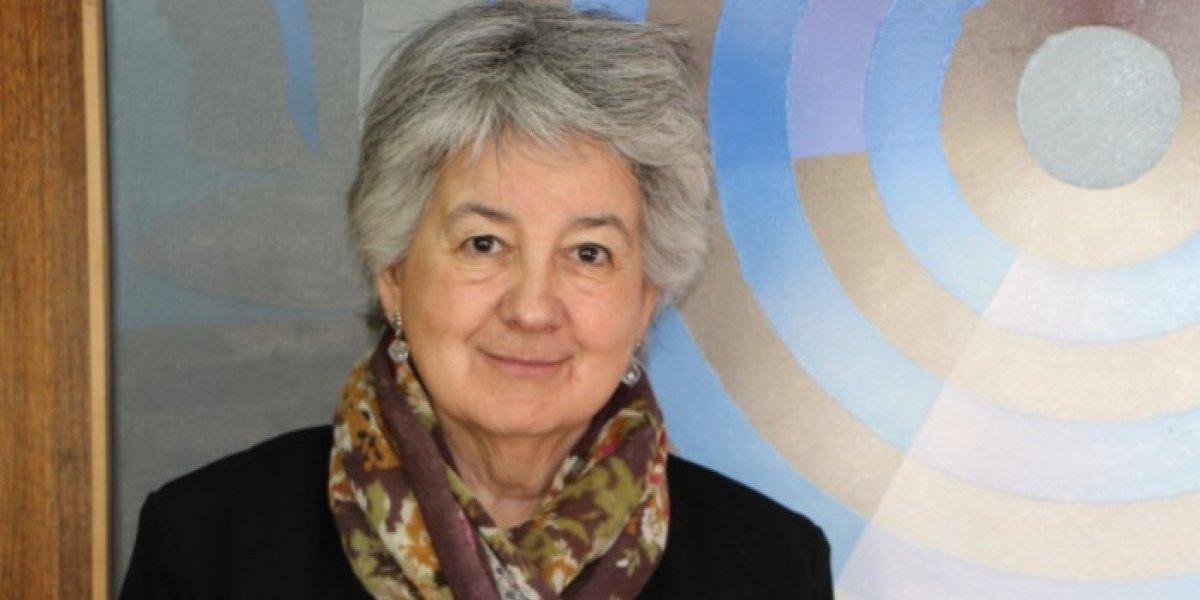 """María Teresa Marshall única mujer en el Consejo de Rectores: """"Hay una estructura que nos va dejando afuera"""""""