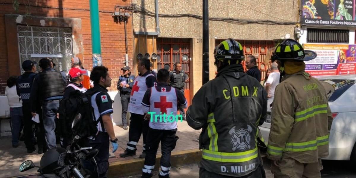 Elevador se desploma en la Guerrero y mata a dos personas