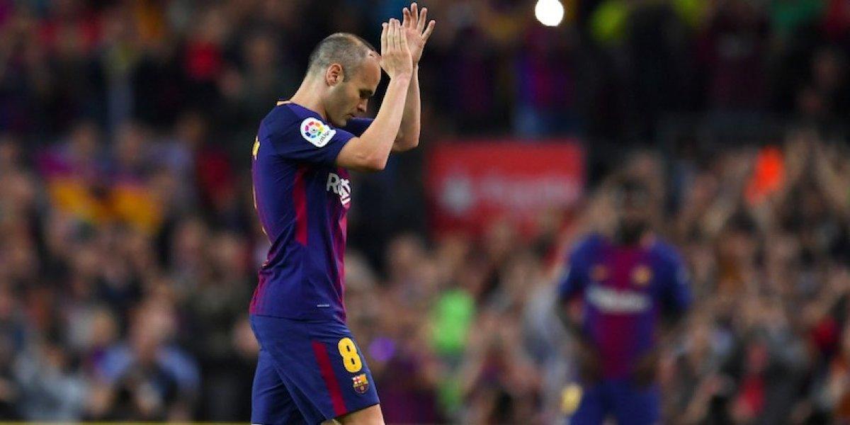 Barcelona prepara emotiva despedida a Iniesta