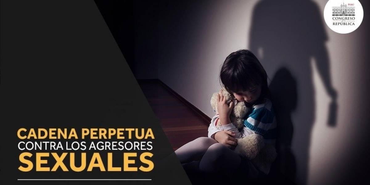 ¿Sería viable en Chile? Congreso peruano aprueba la cadena perpetua y castración química para los violadores de menores
