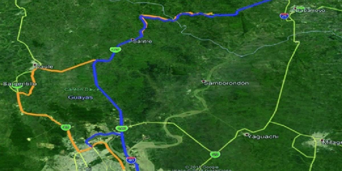 Vía Guayaquil-Babahoyo estará cerrada el 19 de mayo