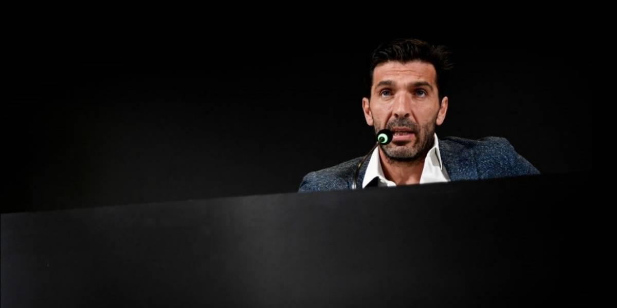 VIDEO: Gianluigi Buffon le dice adiós a la Juventus y a la selección italiana