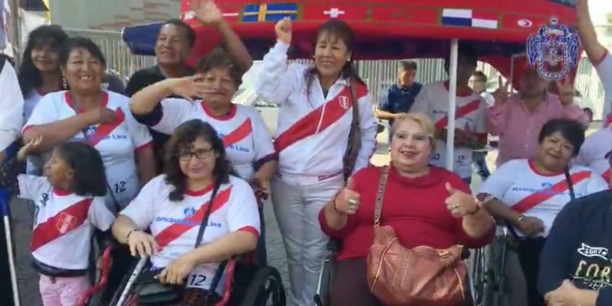 VIDEO. La prenda más grande del Mundial de Rusia fue elaborada en Perú