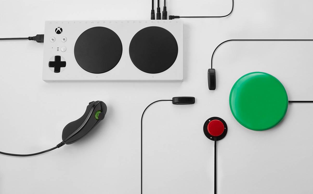 Control adaptativo Xbox