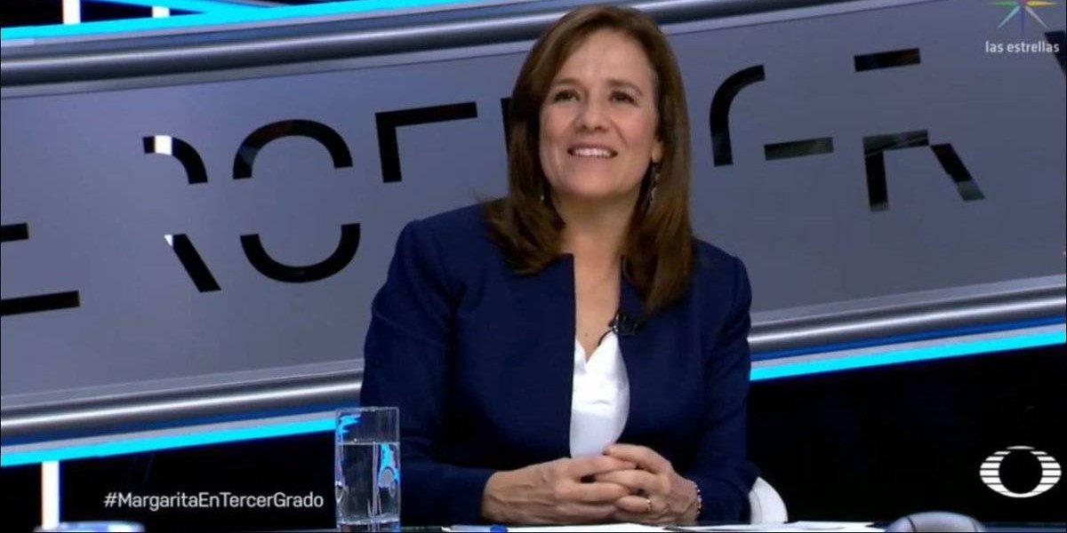 ¿Margarita Zavala a un paso de sumarse a campaña de Anaya?