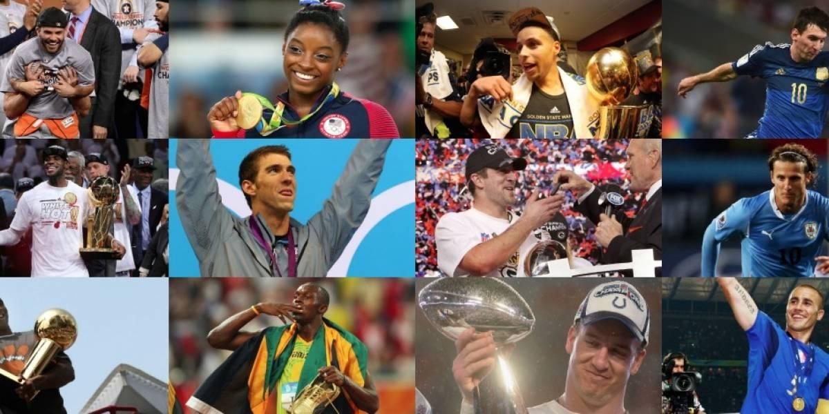 Los mejores deportistas de los 12 últimos años