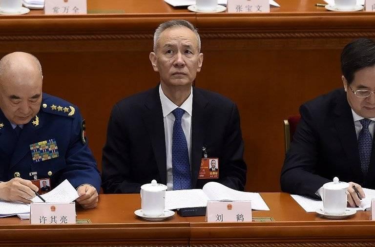 Liu He, viceprimer ministro chino