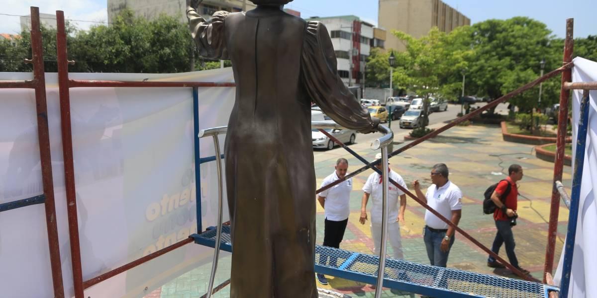 28 monumentos recuperan su 'look' en Barranquilla