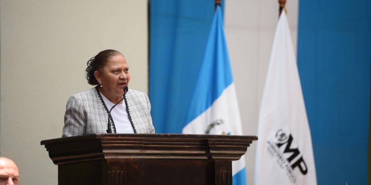 """Fiscal Consuelo Porras: """"Soy una aliada contundente para el sector justicia"""""""