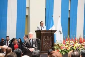 acto de toma de posesión de fiscal general Consuelo Porras con invitados