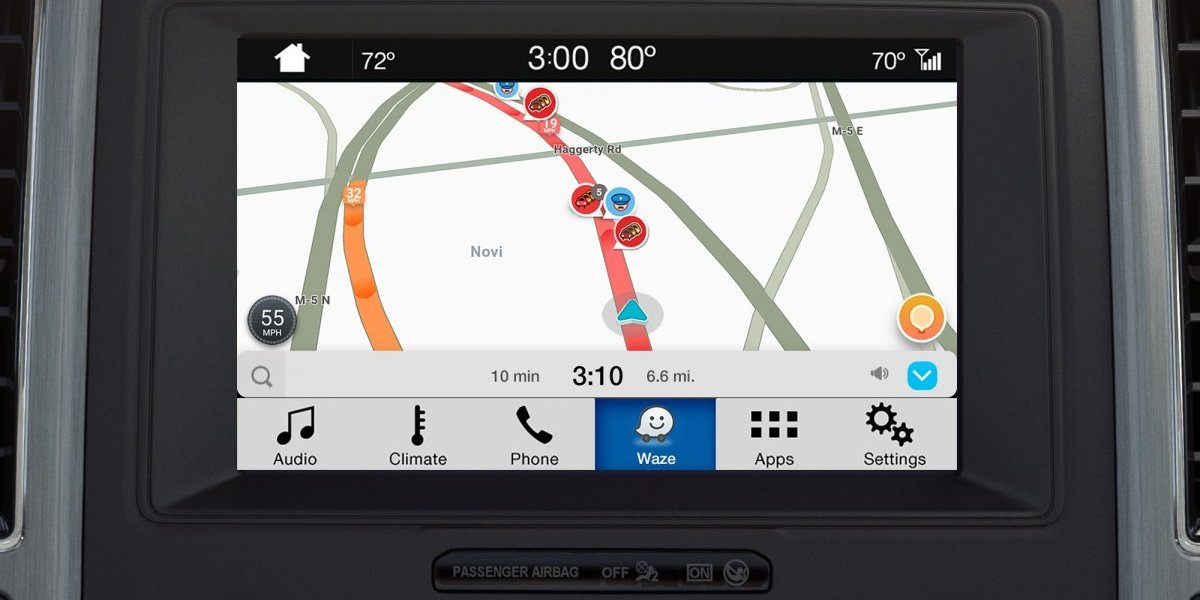 Waze se lanza globalmente en vehículos Ford