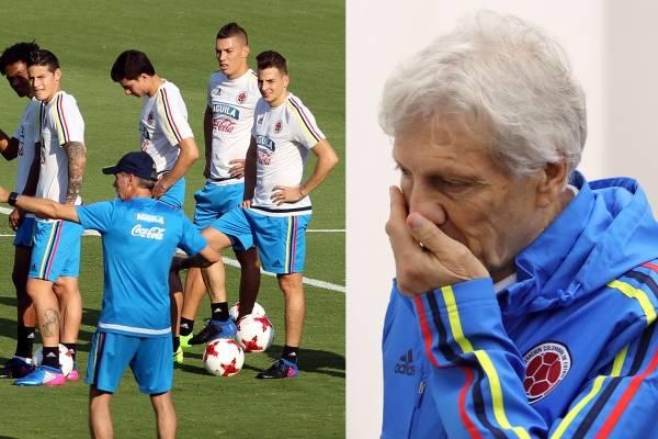 Primer jugador de la Selección Colombia descartado para el Mundial