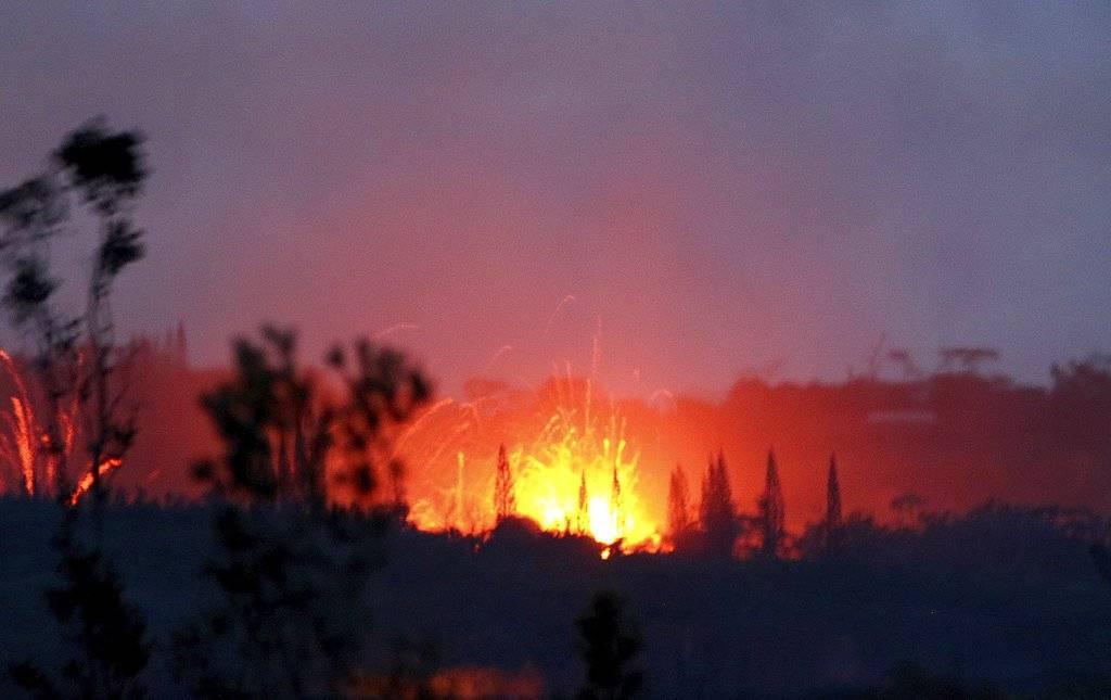 "El volcán Kilauea puso a Hawaii en alerta roja"""