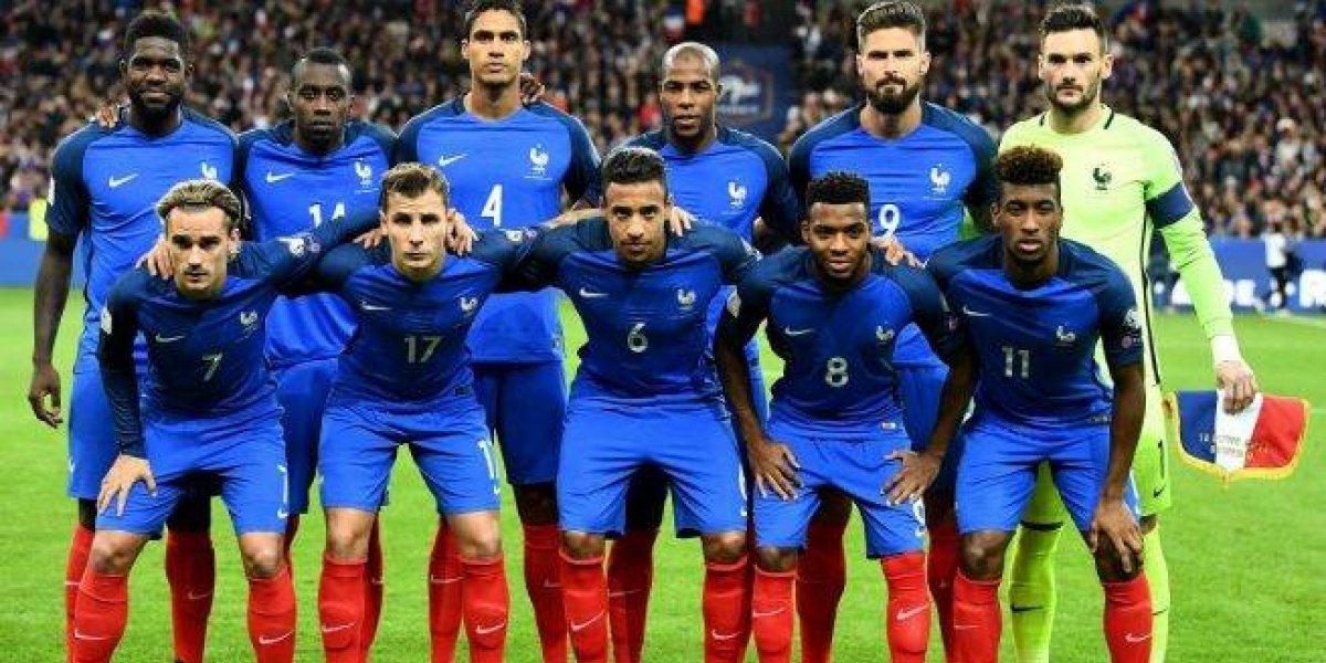 Francia presenta su lista definitiva para el Mundial, estas figuras quedaron fuera