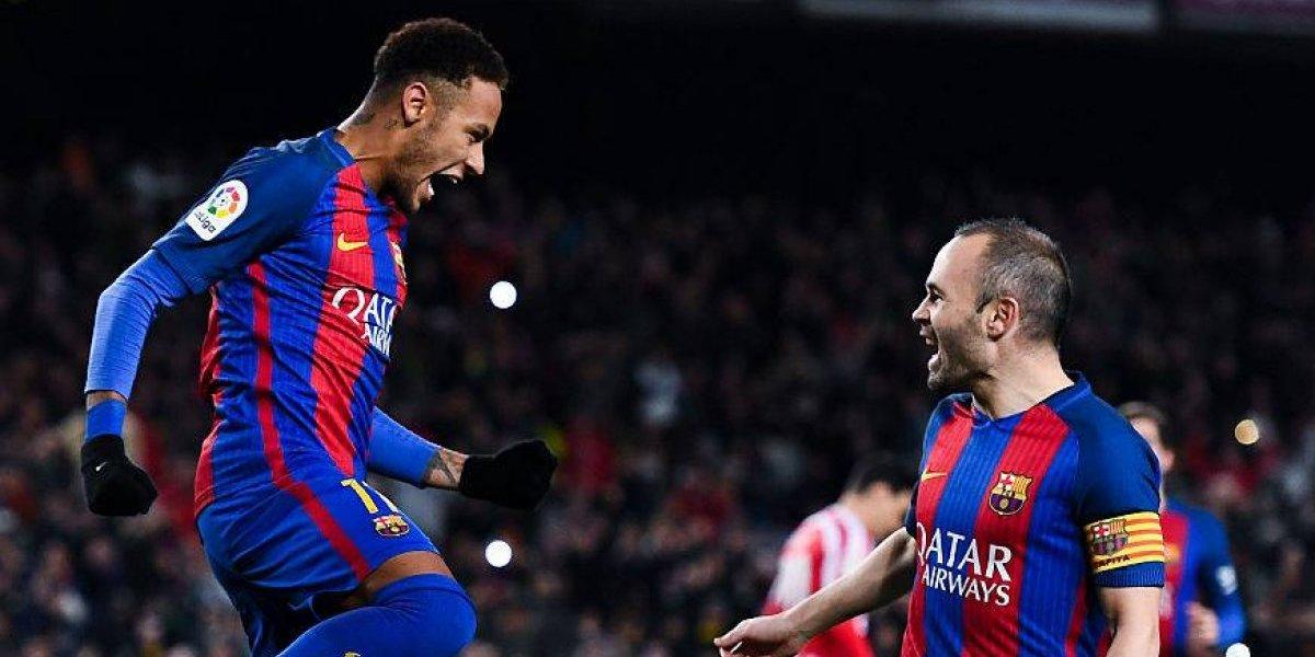 Iniesta aseguró que sería terrible ver a Neymar con el Real Madrid