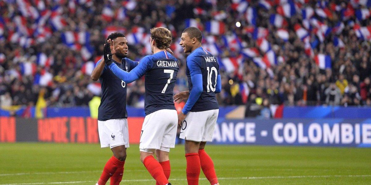 Tres sorpresas en la lista oficial de Francia para el Mundial de Rusia 2018