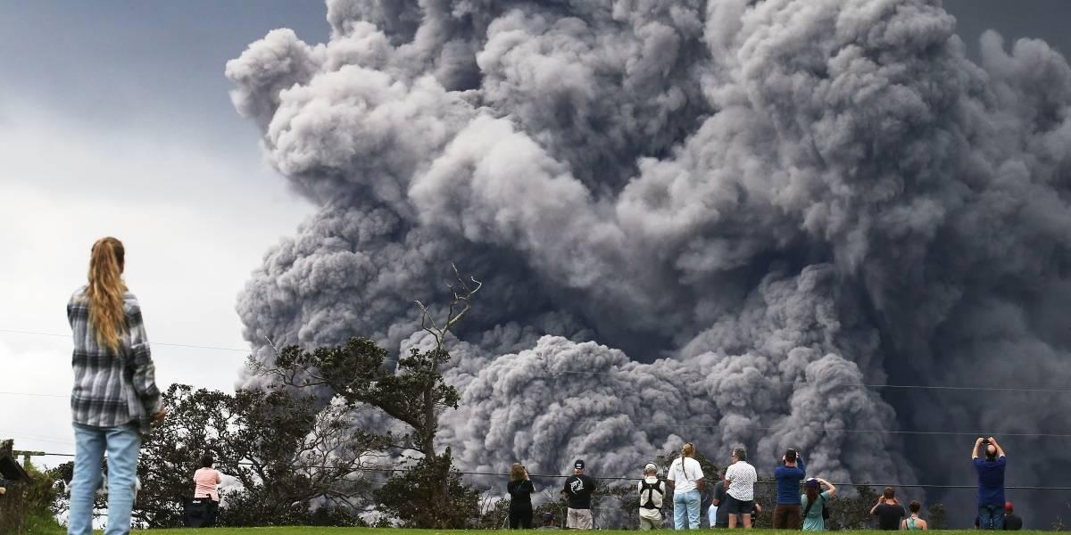 Alarma roja en Hawai: Volcán Kilauea sufre erupción explosiva y las autoridades ordenan buscar refugio