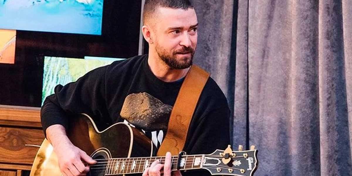 Justin Timberlake faz surpresa para vovó de 88 anos em show