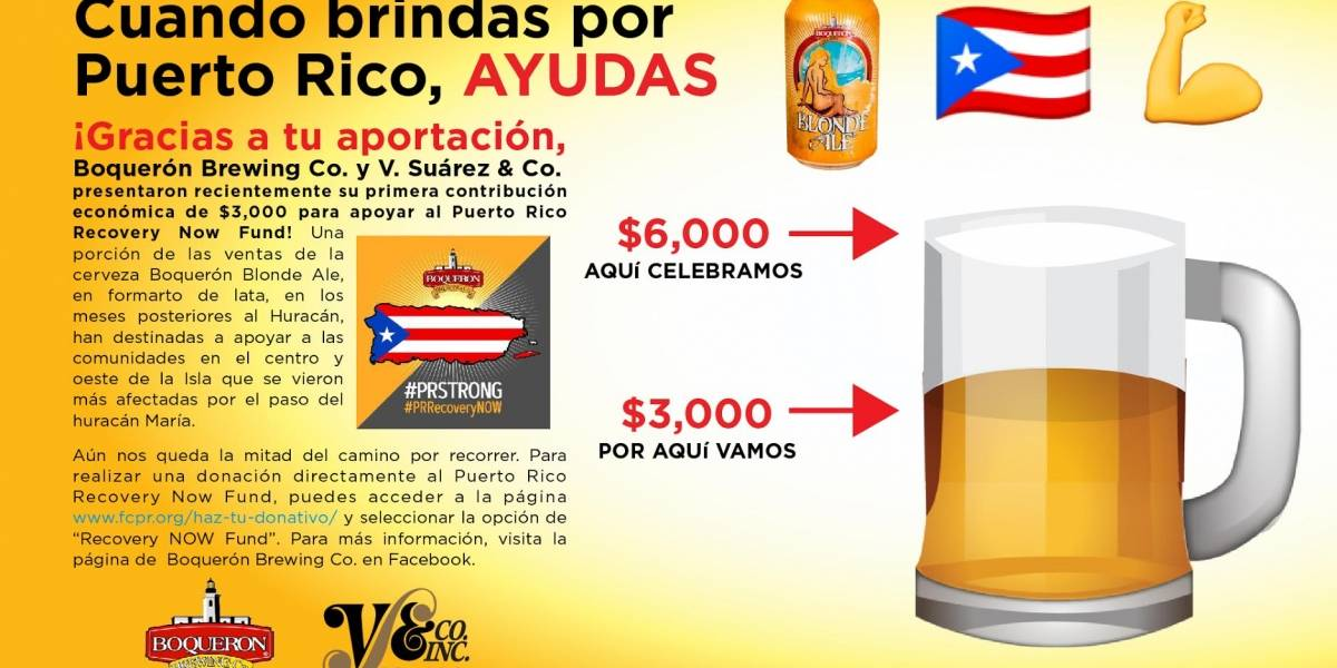 Empresas entregan donativo a Puerto Rico Recovery Now Fund