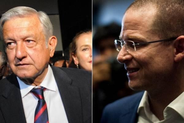 Andrés Manuel López Obrador y Ricardo Anaya