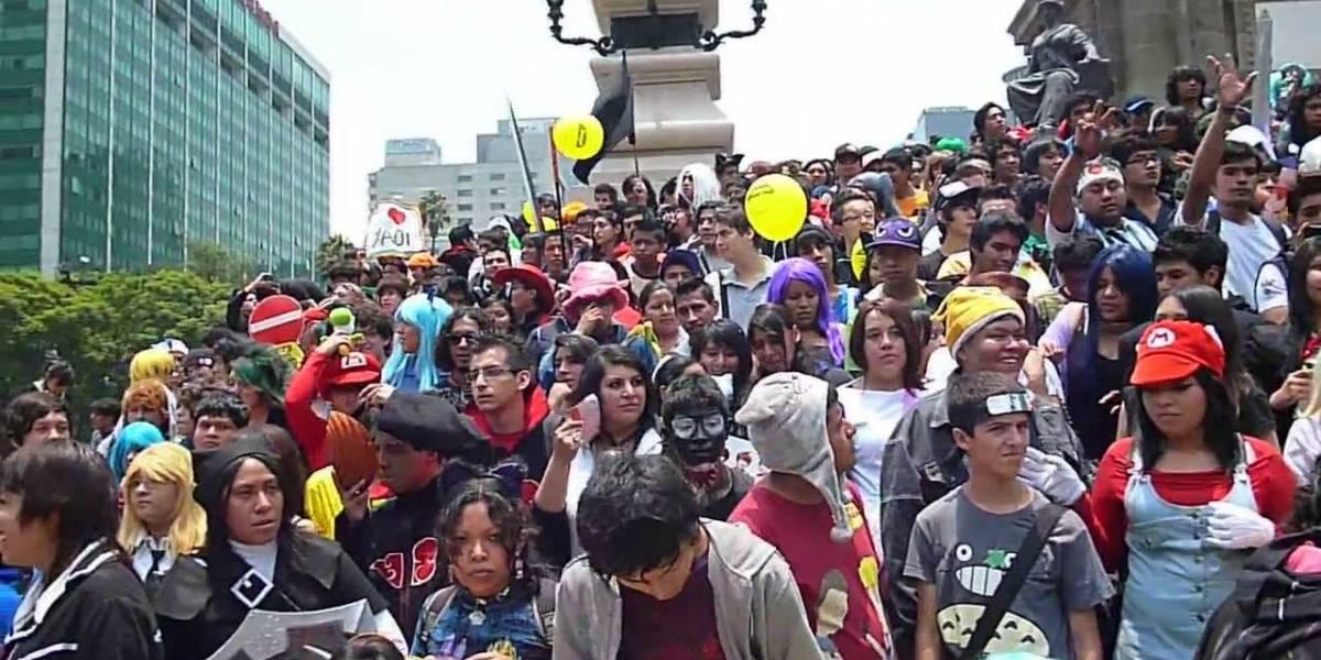 """Mexicanos organizan marcha Otaku por el Paseo de la Reforma para demostrar su orgullo """"Friki"""""""
