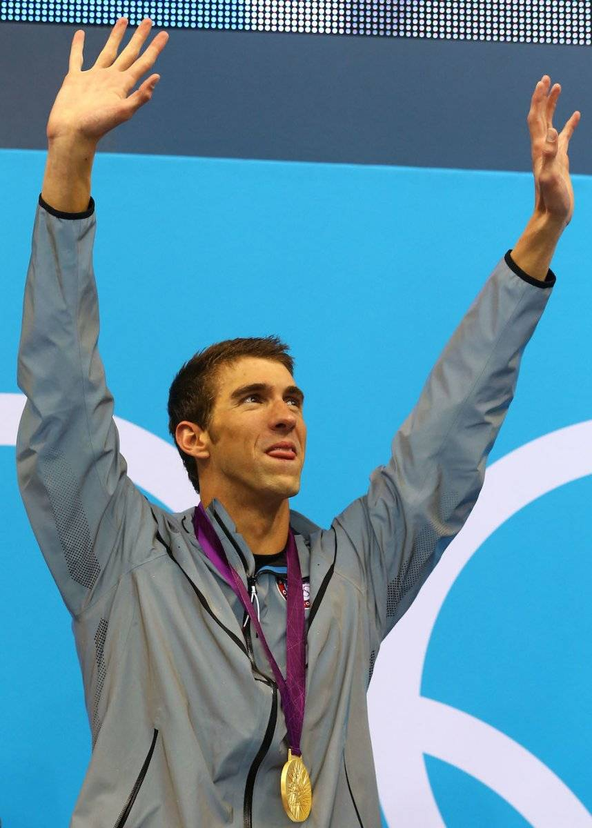 Michael Phelps / Getty Images