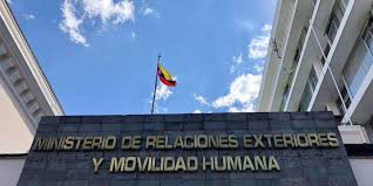 Ecuador aboga por el diálogo y pide preservar objetivos superiores del mundo