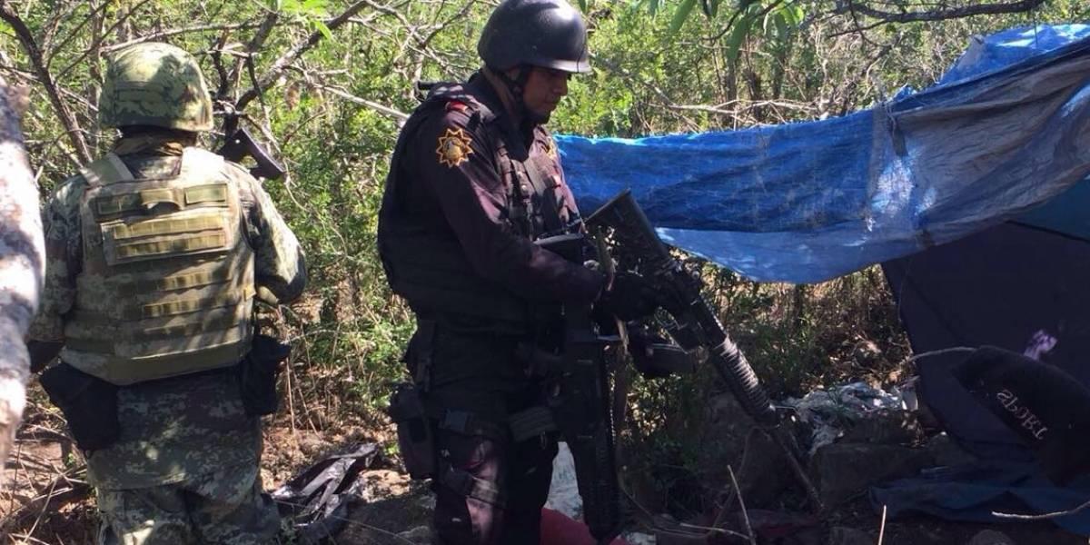 'Narcocampamento' es descubierto en Nuevo León