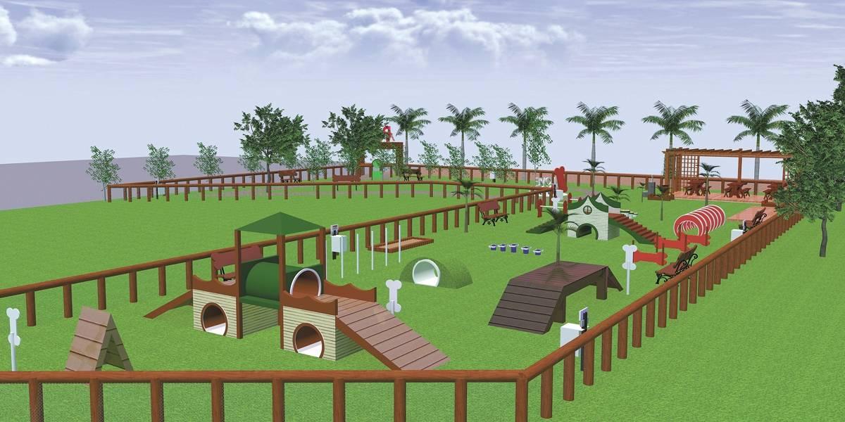 Cachorros vão ganhar 'parque de diversão' na zona leste de São Paulo