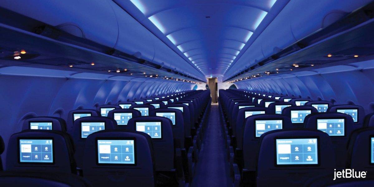 """Reconocen a JetBlue por ofrecer la mejor """"Comodidad de Pasajero"""""""