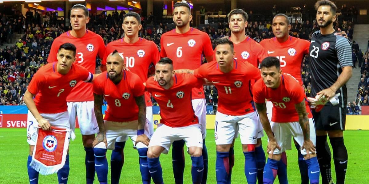 Aún en la élite: Chile sigue entre las mejores selecciones del mundo