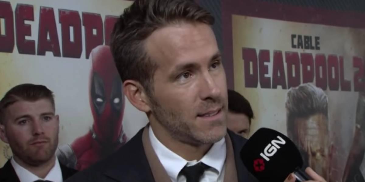 Ryan Reynolds se impressiona com paixão de repórter por 'Deadpool'