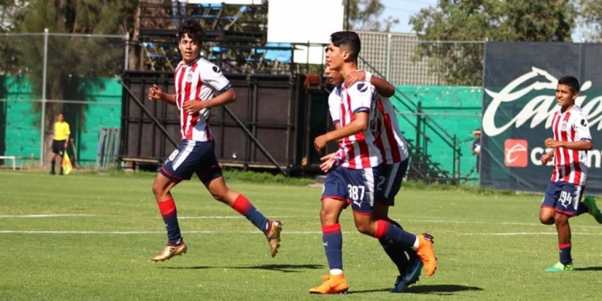 Atlas y Chivas definirán el título de la categoría Sub-15
