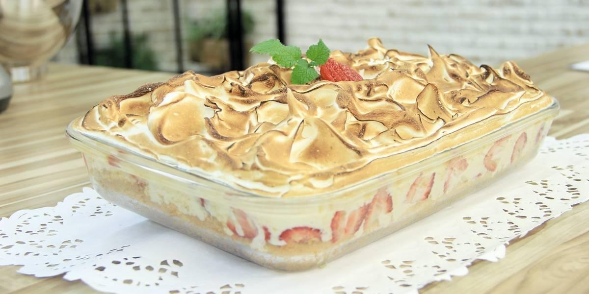 Torta de morango
