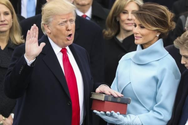 Inauguración del periodo presidencial de Donald Trump