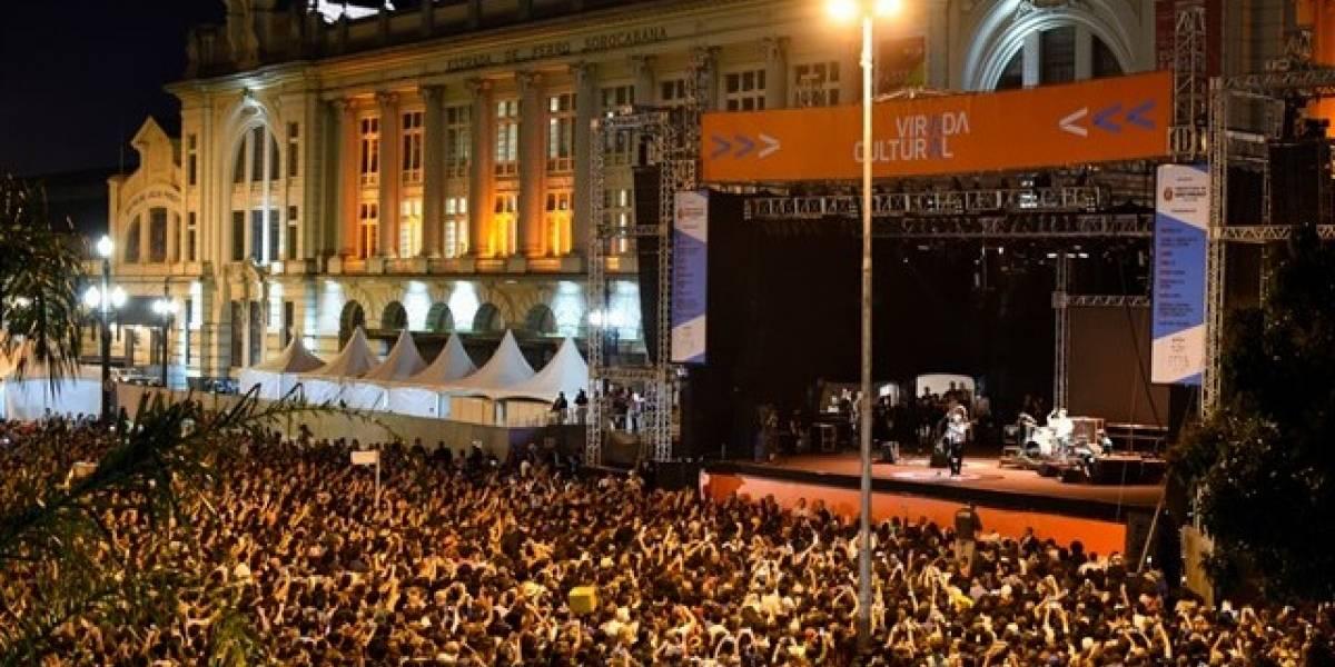 Shows da Virada Cultural de SP terão transmissão ao vivo pela internet