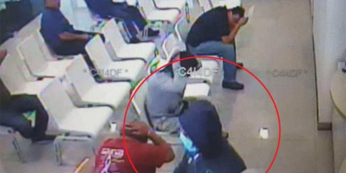 Hombres con cubrebocas asaltan banco en la Gustavo A. Madero