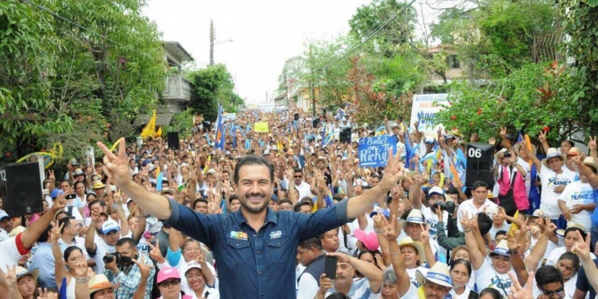 Redes sociales dan victoria a Yunes Márquez en debate