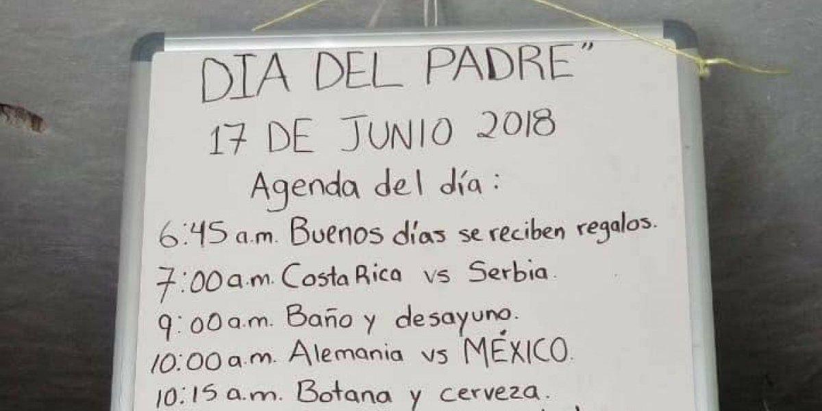 Un día completamente mundial: hombre pidió regalo futbolero para el Día del Padre y todos en las redes sociales están copiando su idea