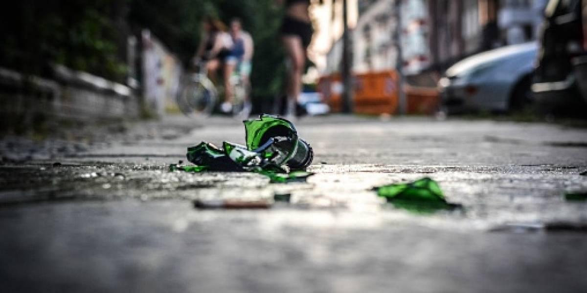En una discusión familiar, joven hirió a su hermano con una botella