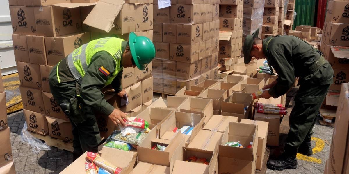 La pelea entre Santos y Maduro por las cajas de comida del Clap encontradas en Colombia
