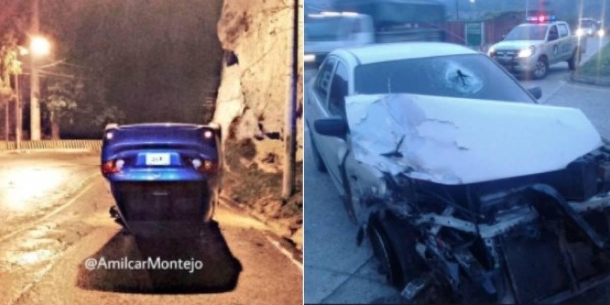 Accidentes y vehículos con desperfectos complican el tránsito en la Ciudad
