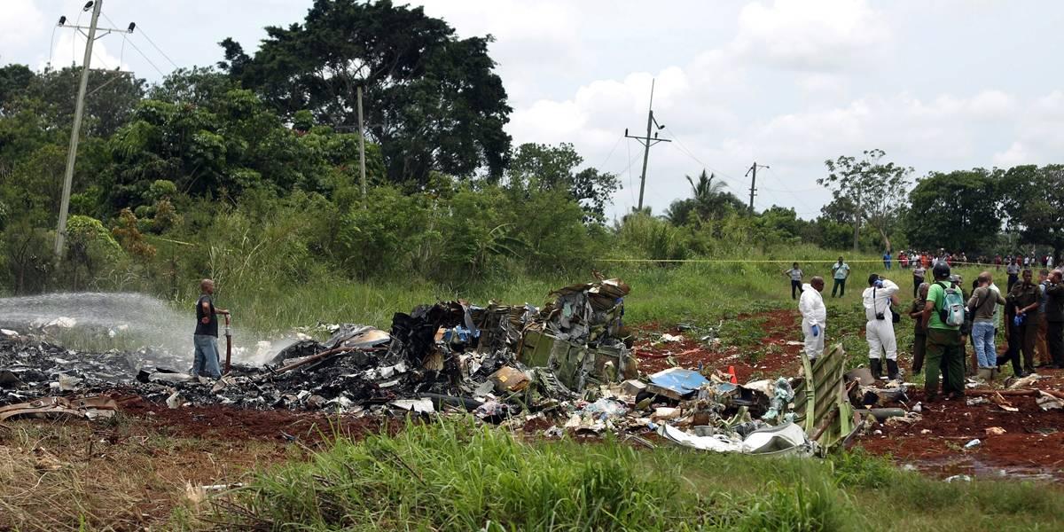 Sobreviventes de acidente de avião em Cuba são 3 mulheres