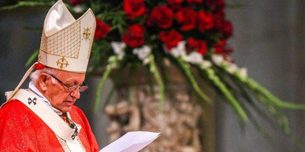 """Primera aparición pública del Cardenal Ezzati: """"No basta con pedir perdón a las víctimas"""""""