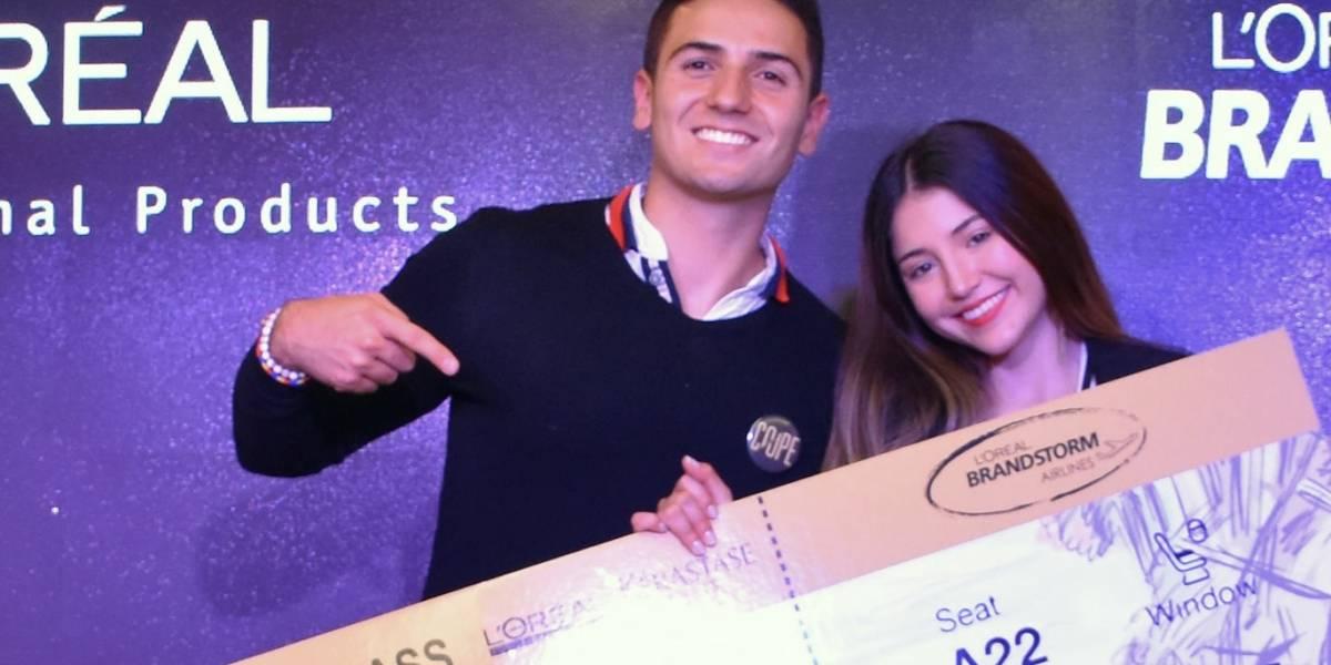 Tres jóvenes colombianos representan a Colombia en el L'Oréal Brandstorm 2018
