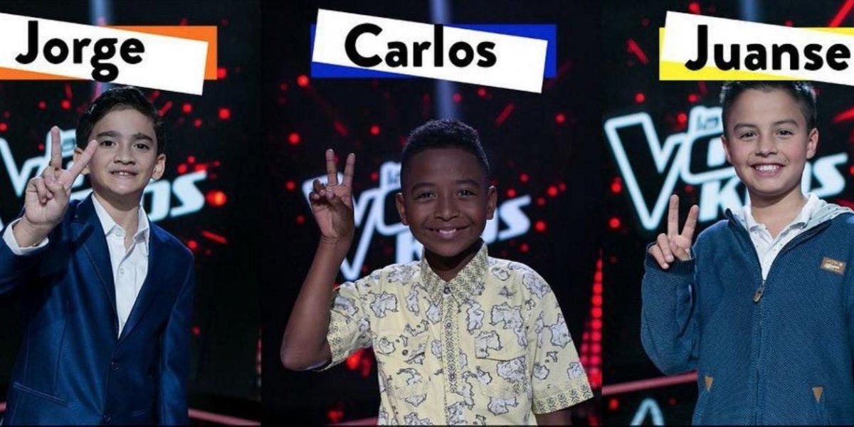 ¡Último capítulo! Estos son los finalistas de La Voz Kids Colombia